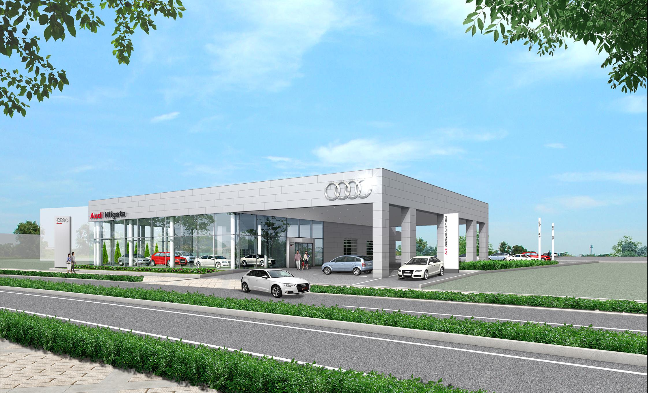 アウディ正規販売店「Audi 新潟」を移転オープン