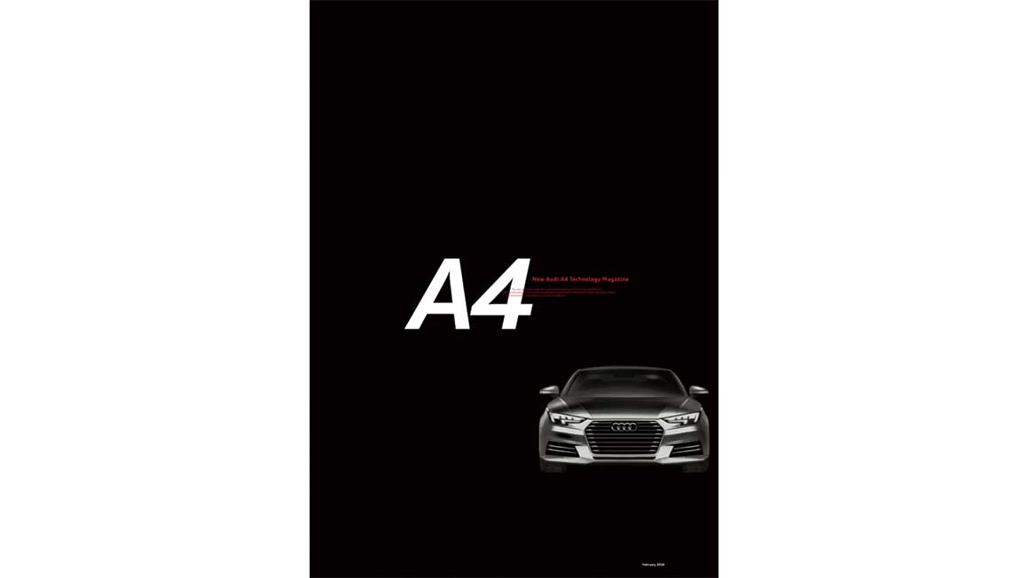 New Audi A4 Technology Magazine 02/2016