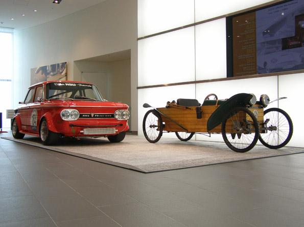 アウディジャパン、歴史的な2台のモデル 「DKW Slaby-Beringer」、「NSU TTS Gruppe 2」を公開
