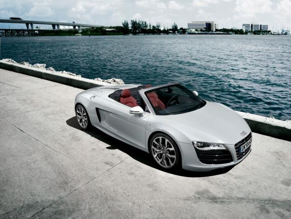 Audi R8 Spyder 予約注文受付開始 - R8シリーズのオープントップモデルがついに登場。V型10気筒 5.2FSIエンジン搭載 -