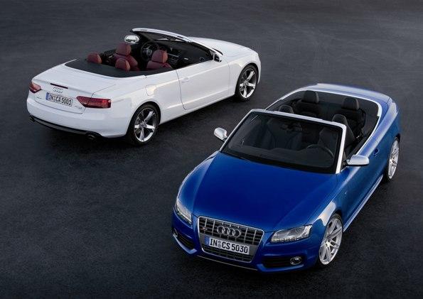 「Audi S5 Cabriolet」発表 -A5 Cabriolet 2.0 TFSI quattro を新設定-