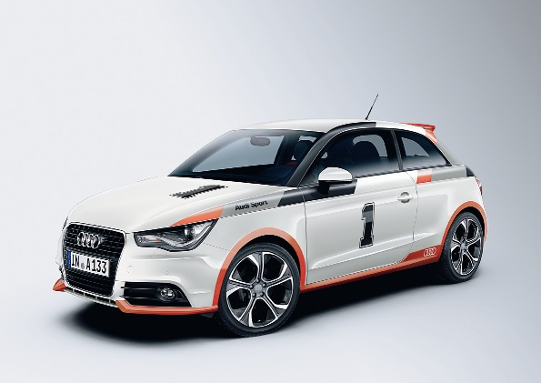 Audi A1コンペティションキット レジェンドを発売 80年代のラリーマシン「アウディ クワトロ」のカラーリングを再現