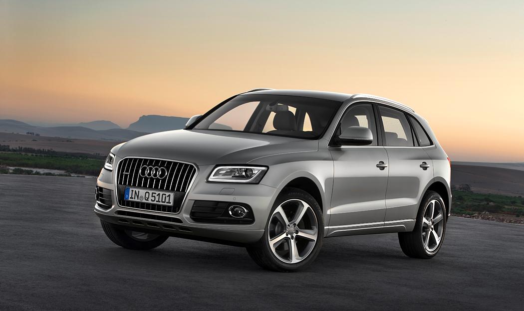 Audi Q5 を仕様変更
