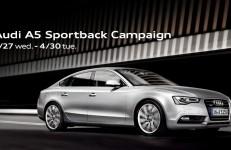 Audi A5 Sportback Campaign