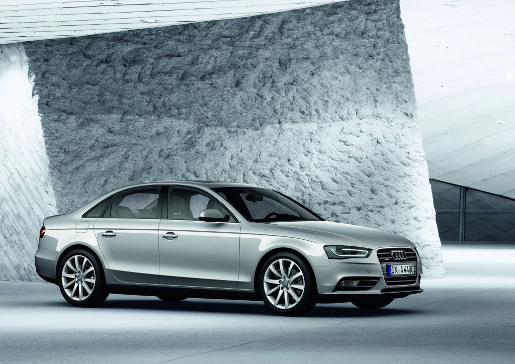 Audi A4/A4 Avantの装備、仕様を一部変更