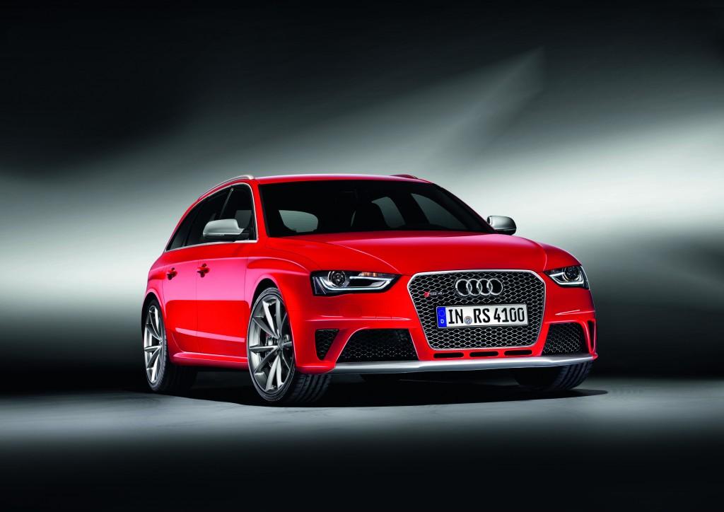 新型Audi RS 4 Avantを発表