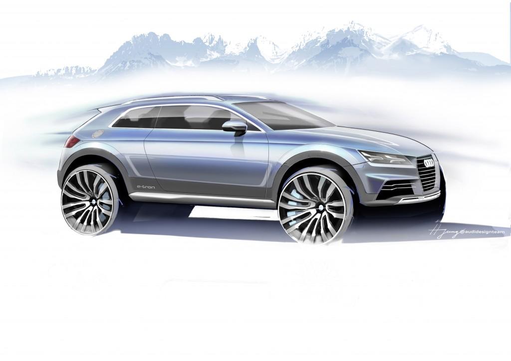 アウディの新しいショーカー – 斬新なデザインのコンパクトスポーツカー