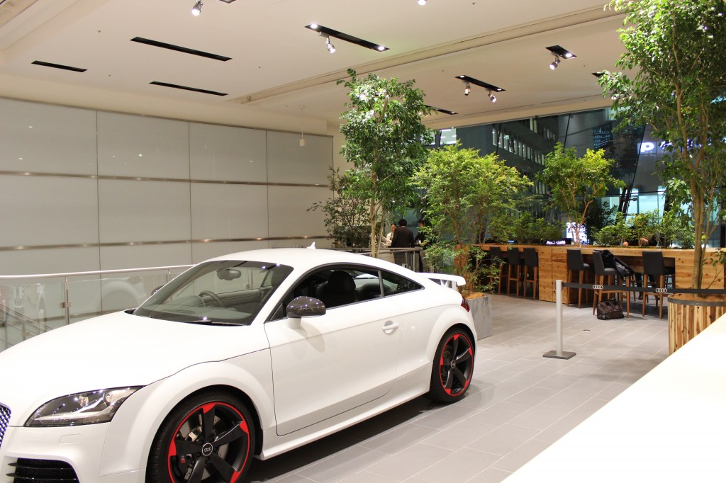 Audi Forum Tokyoに『 Audi Café produced by CITABRIA 』をオープン