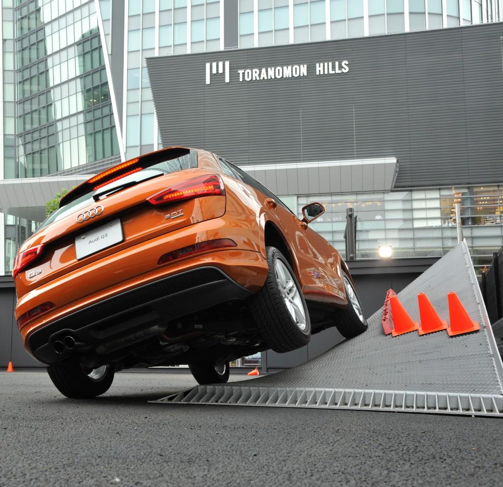 「Audi driving experience quattro park」オープン