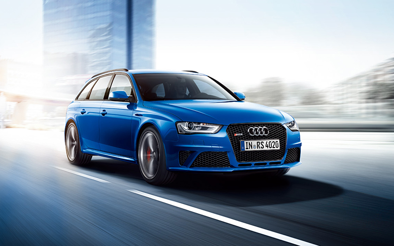 Audi RS 4 Avant Nogaro selectionを発売