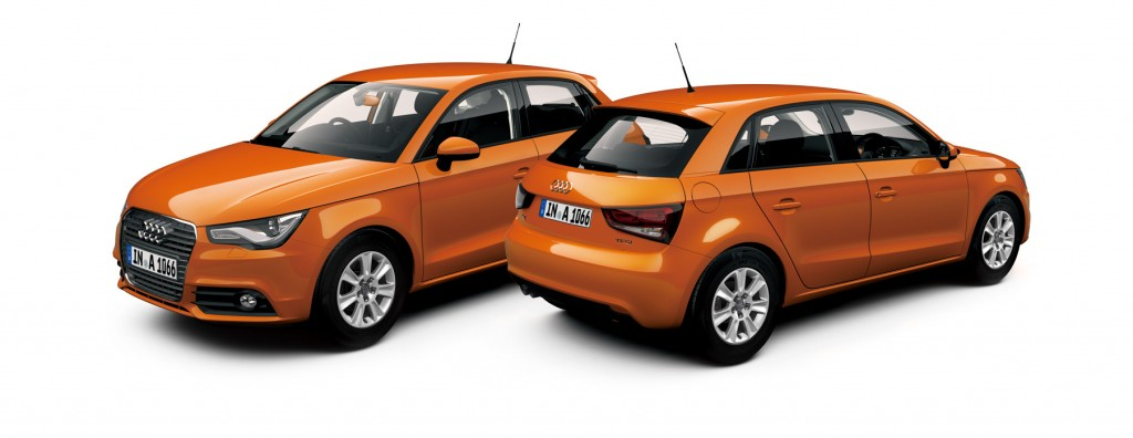 "Audi A1 Sportback color selection - ""Samoa Orange""を発売"