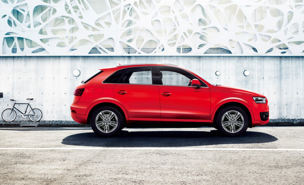 Audi Q3 color selection - Misano Redを発売