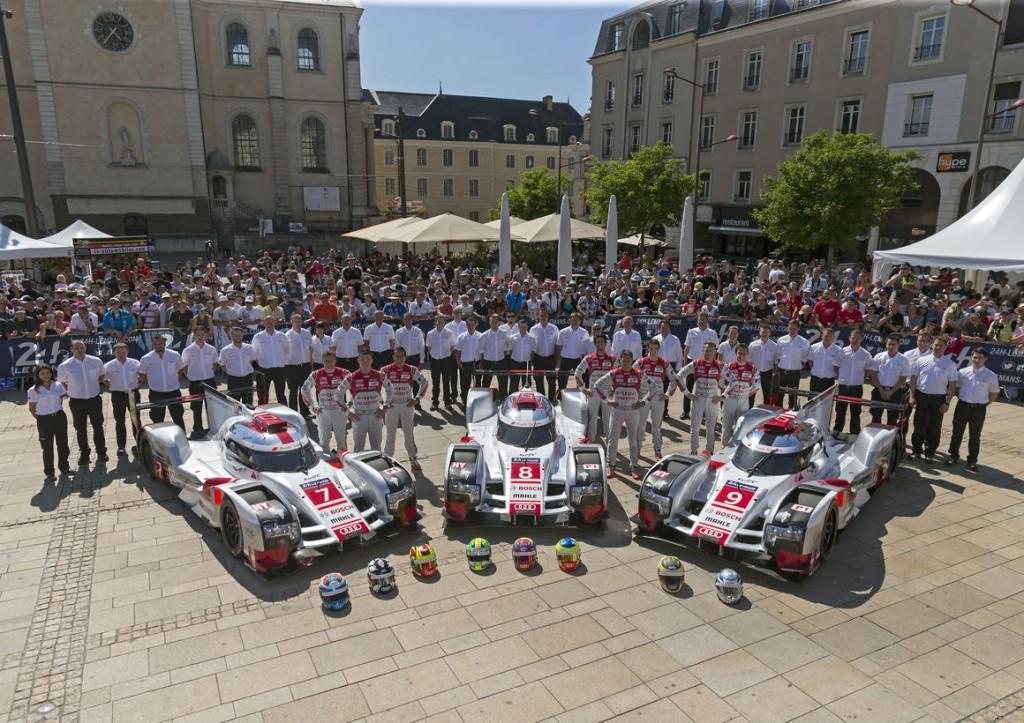 Audi、ル・マン24時間レース決勝に向けた万全の準備を終える