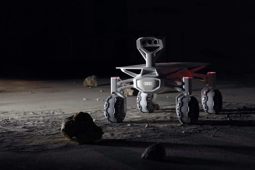 月へのミッション:AUDI AGがGoogle Lunar XPRIZEでドイツチームをサポート