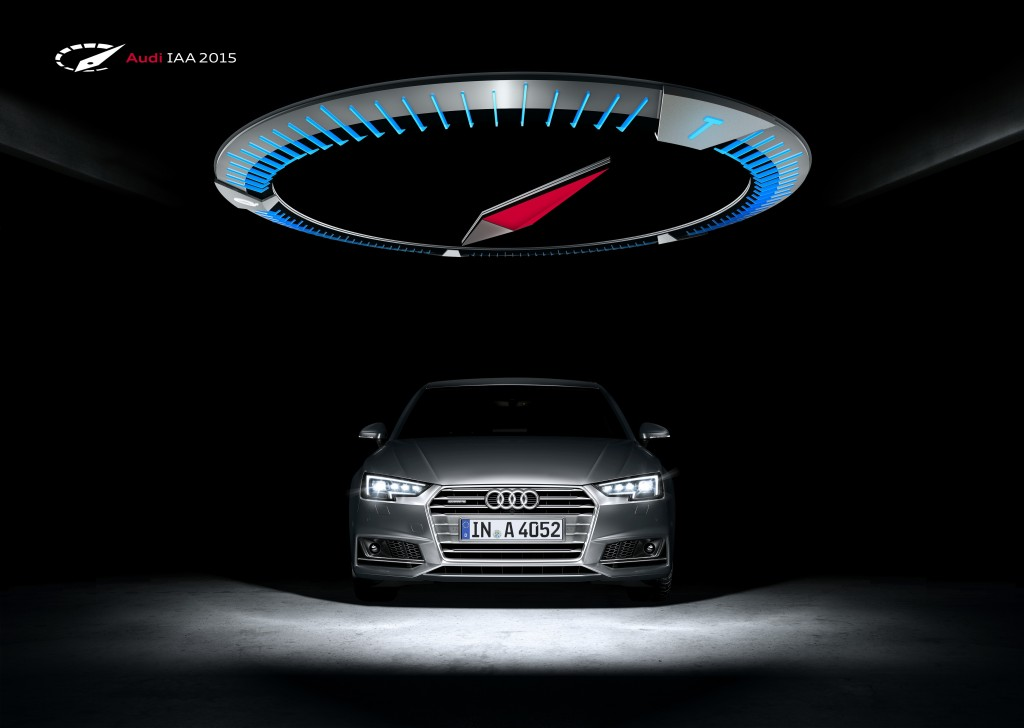 フランクフルトモーターショーに新型Audi A4を出展