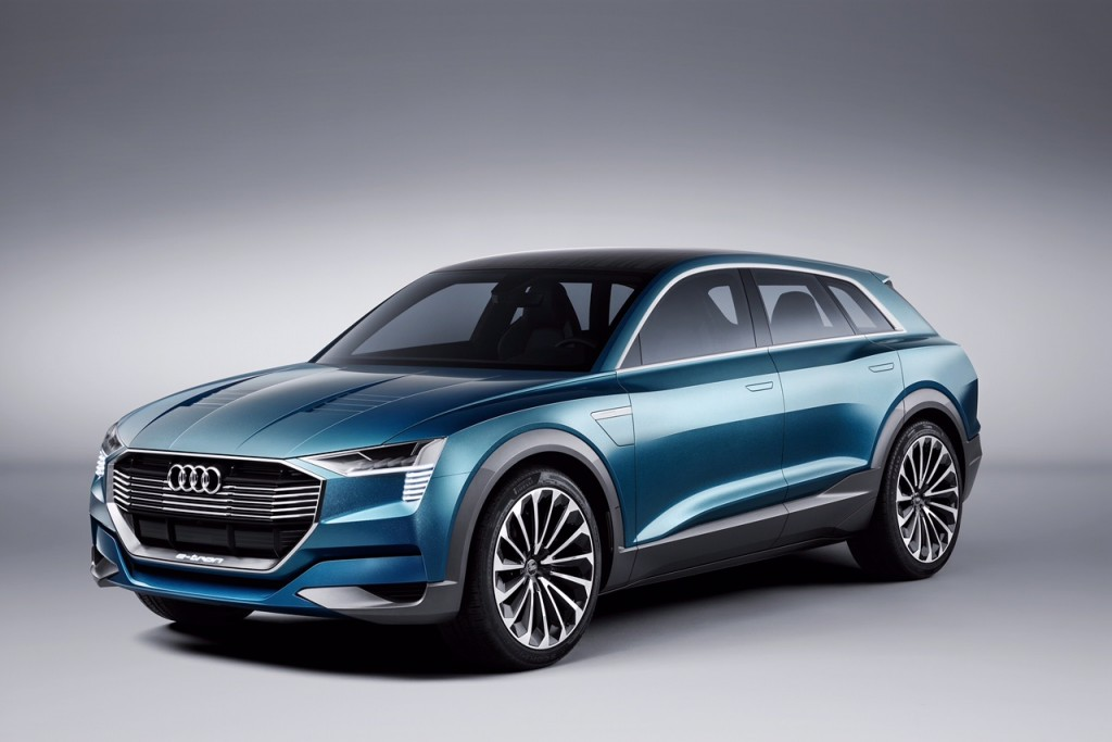 Audi e-tron quattro concept:妥協のないEV走行の歓び