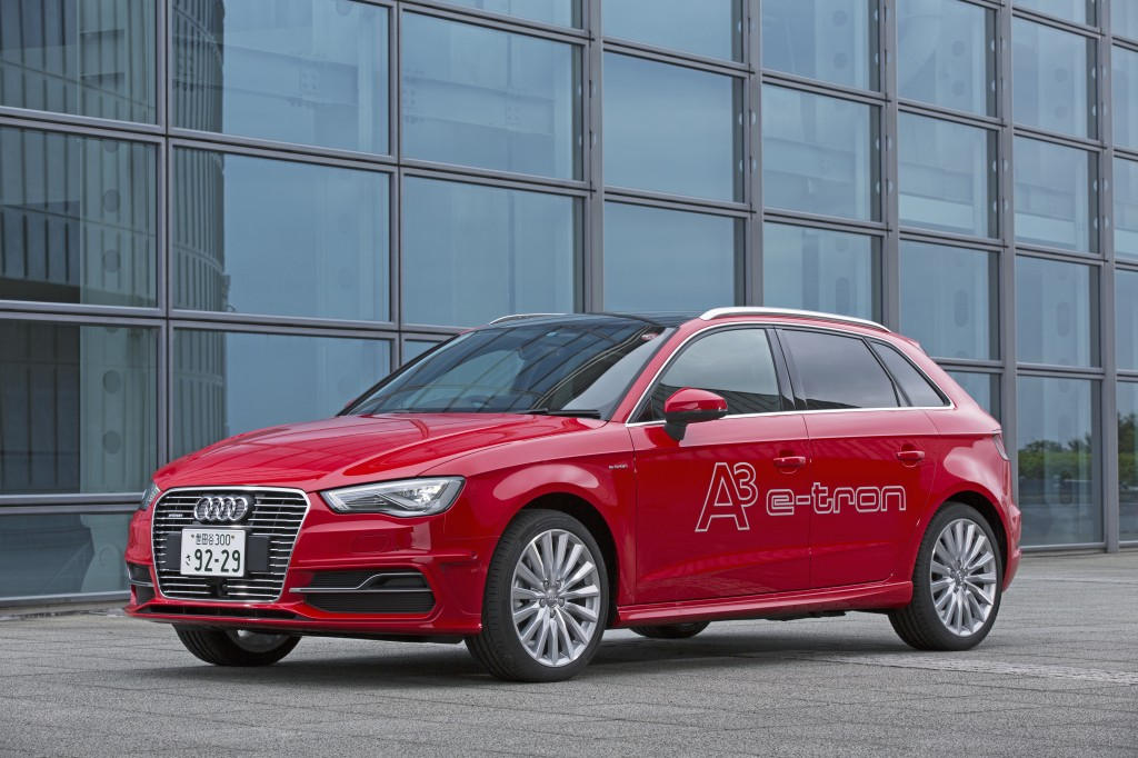 新型 Audi A3 Sportback e-tronを年内に発売へ