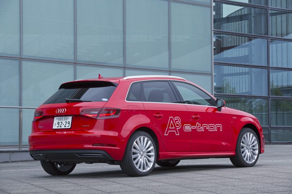 新型 Audi A3 Sportback e-tronを11月12日に販売開始