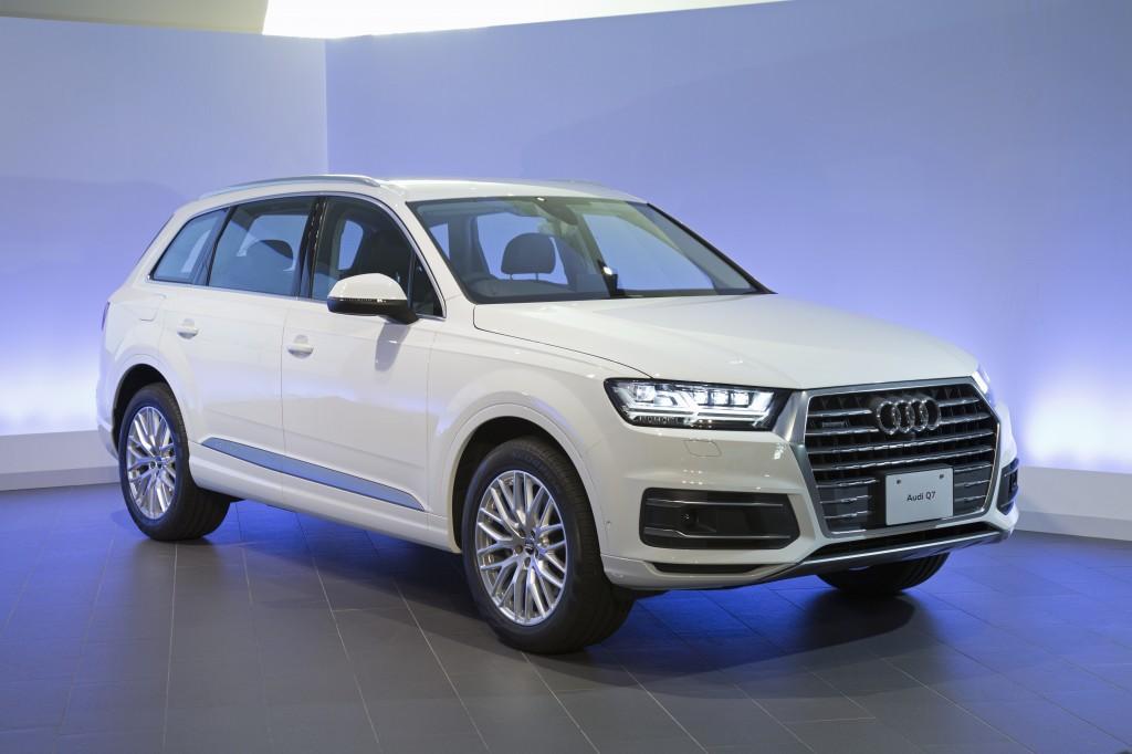 新型 Audi Q7