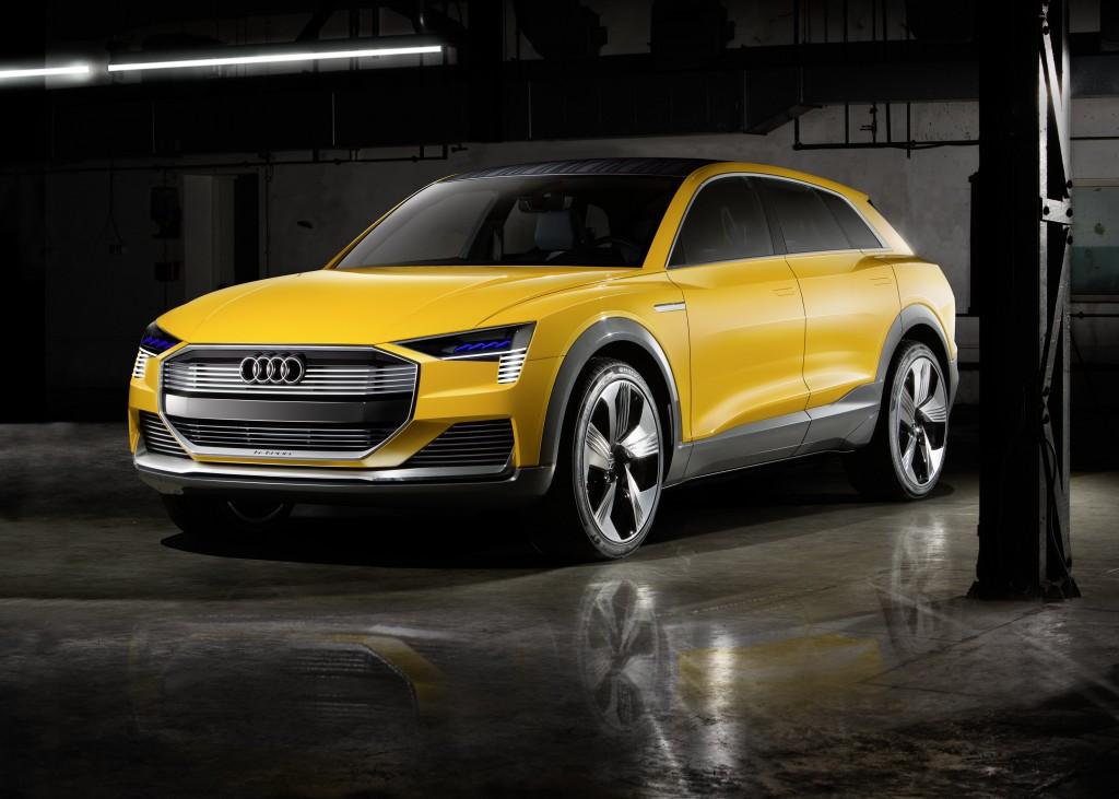 2016年北米国際自動車ショーで発表したAudi h-tron quattro concept の概要