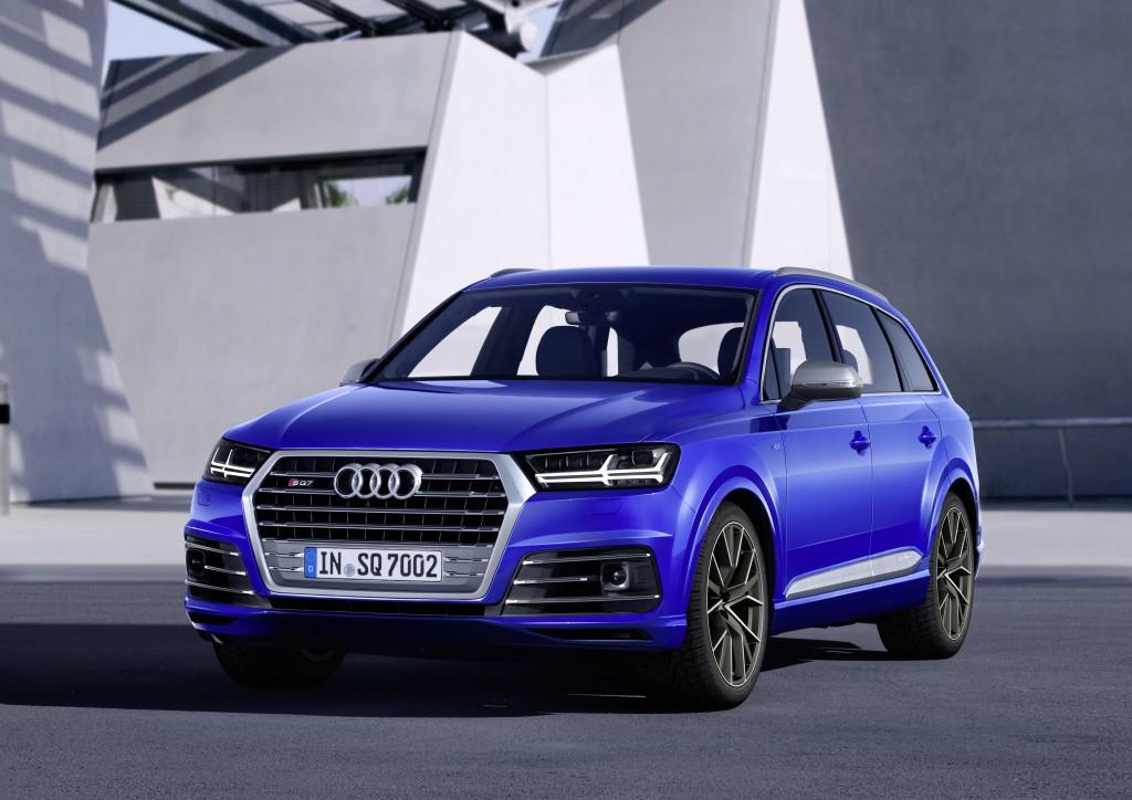 Audi SQ7 TDI: ドライビングイノベーション