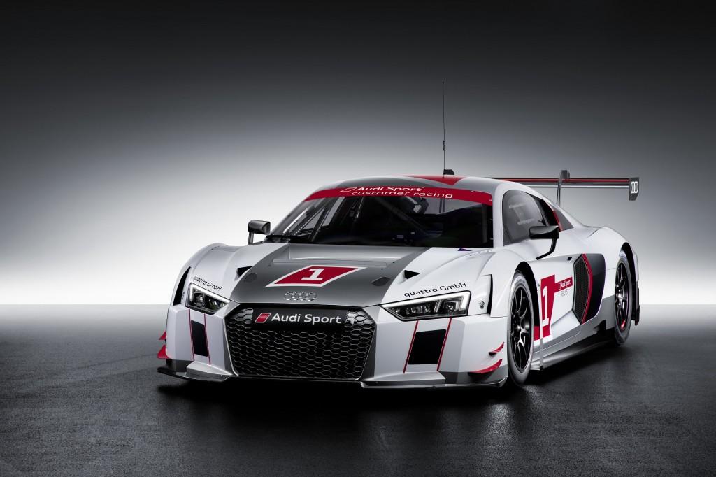 新型 Audi R8 LMS が日本のレースシーンに登場