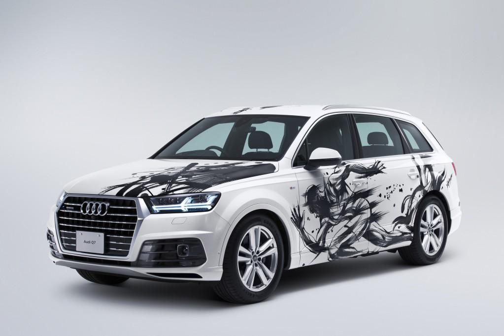 Audi Q7 Premium Auction この車の価値を決めるのは、あなたです。 世界で一台だけの特別な Audi Q7 をヤフオク!で販売